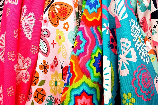 Sportswear fabric is getting seriously funky!