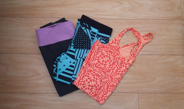 My first review will be these Nike Leggings and Top. Photo by Danielle Bussell
