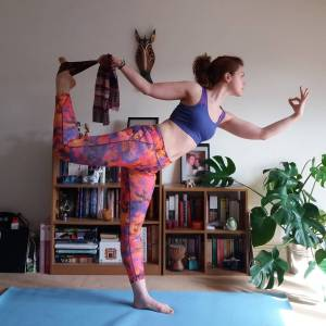 Day Six: Dancer Pose