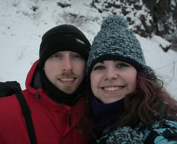A photo taken just before we got engaged. Photos by Danielle Bussell