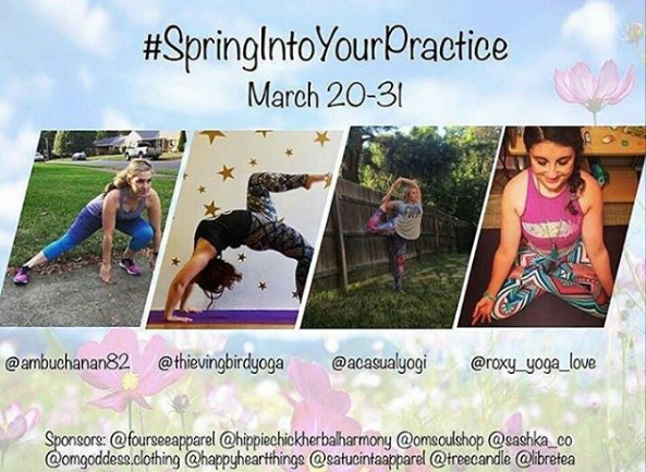 Spring Into Your Practice